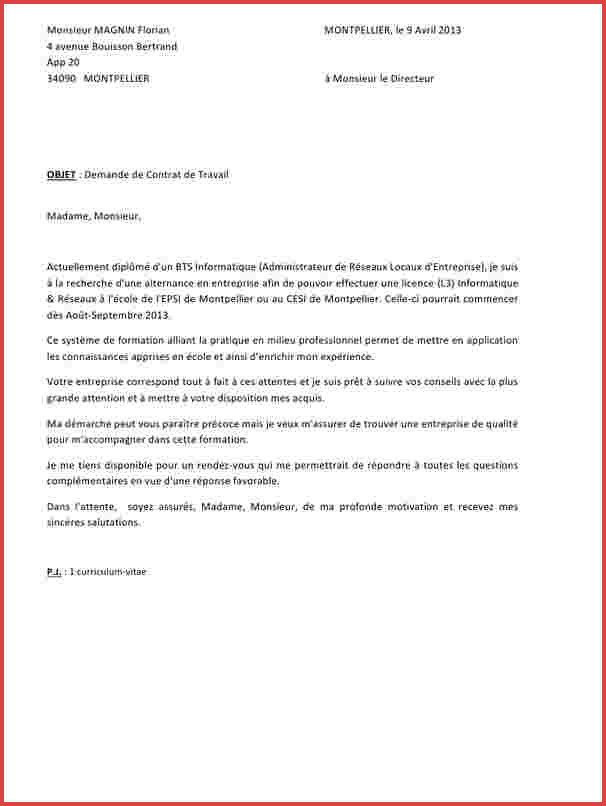 lettre de motivation gratuite banque alternance