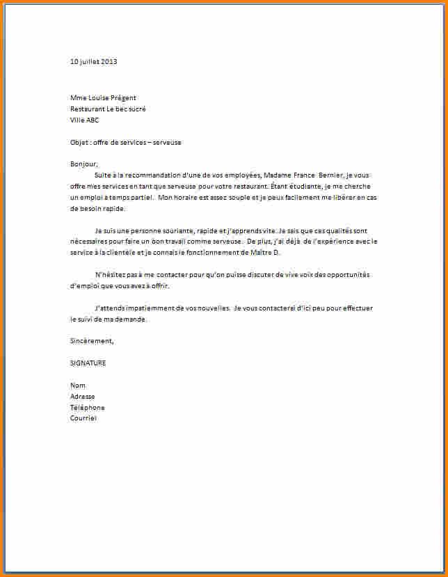 lettre de motivation hotesse de caisse avec experience