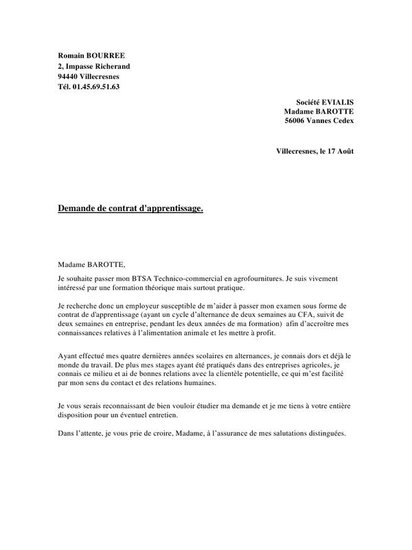 lettre de motivation pour poste commercial - Modele de ...