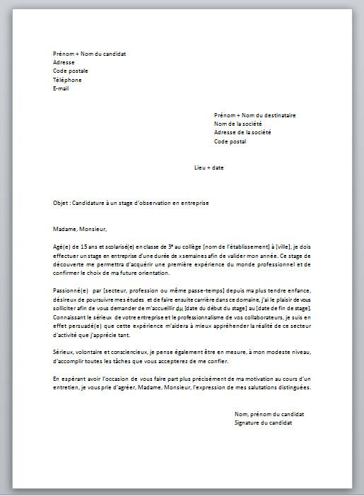 lettre de motivation pour reorientation scolaire