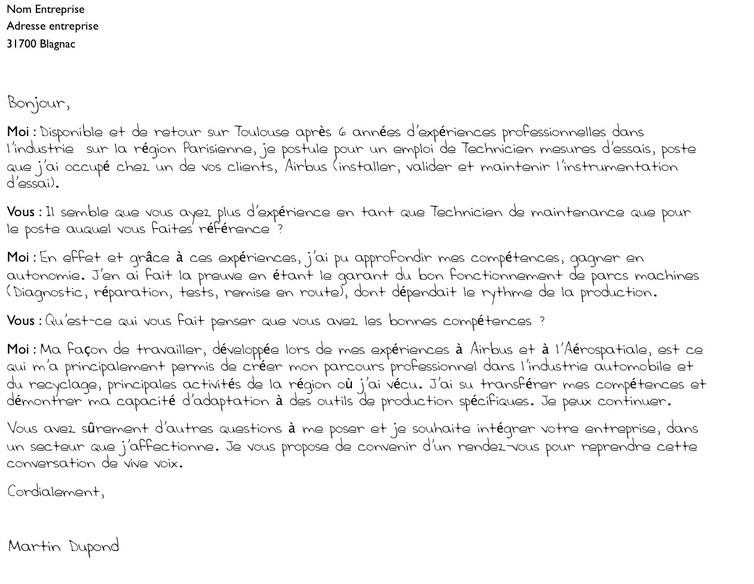 lettre de motivation promotion interne