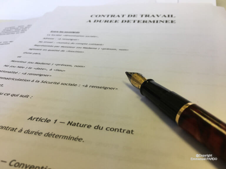 lettre de rupture de contrat cdd par l u0026 39 employeur