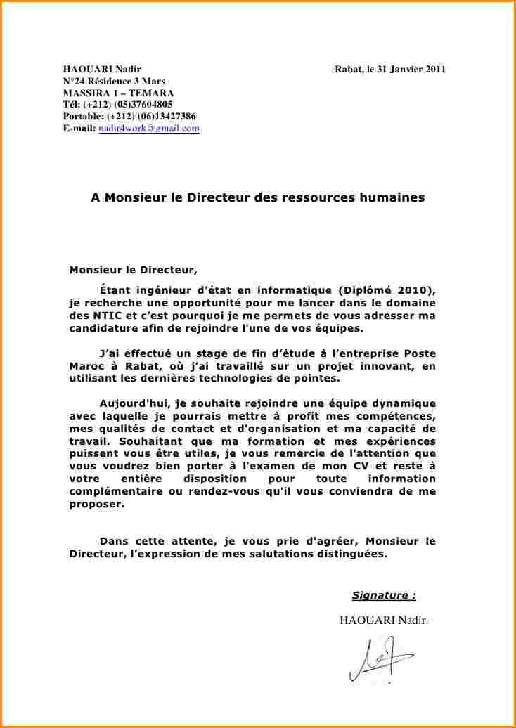 lettre demission chsct gratuite - Modele de lettre type