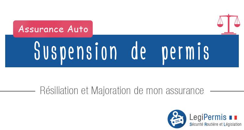 lettre suspension assurance auto
