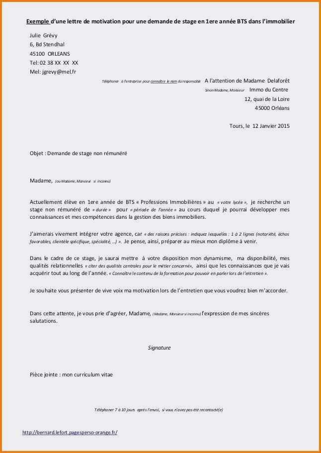 lettre type procuration - Modele de lettre type