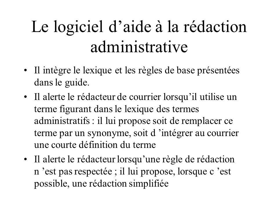 logiciel pour courrier administratif