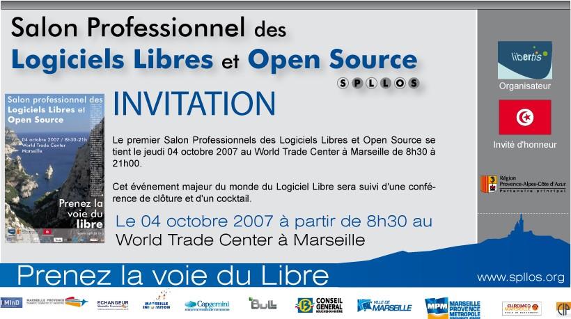 mail d'invitation professionnel