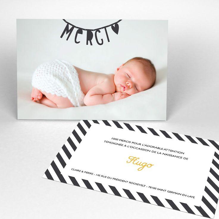 message de remerciement naissance