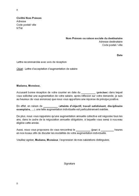 modele courrier resiliation contrat - Modele de lettre type