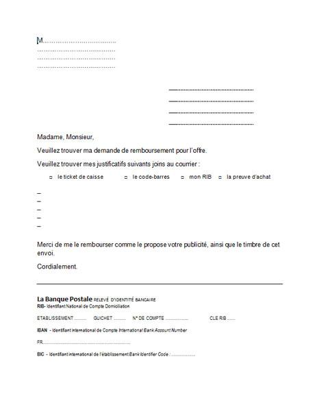 modele de lettre pour changement de domiciliation bancaire - Modele de lettre type