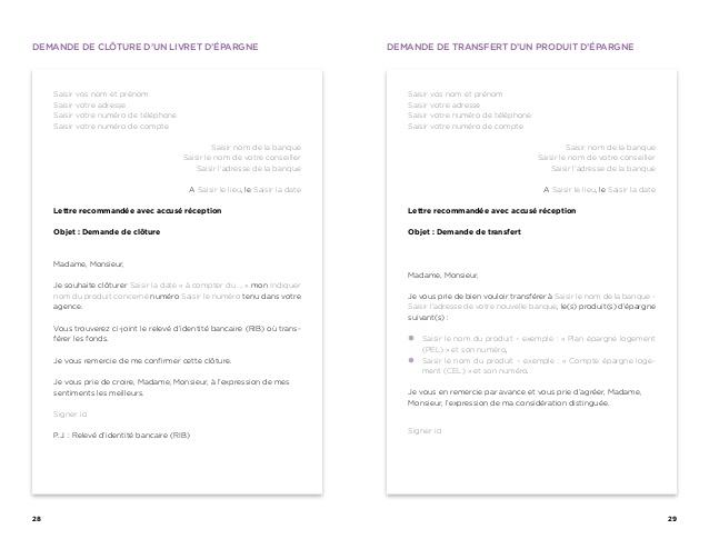 modele de lettre pour informer d'un changement d'adresse