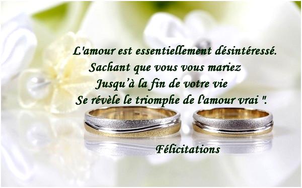 modele felicitation mariage gratuite