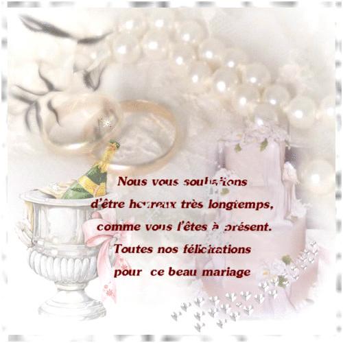 modele lettre felicitation mariage - Modele de lettre type
