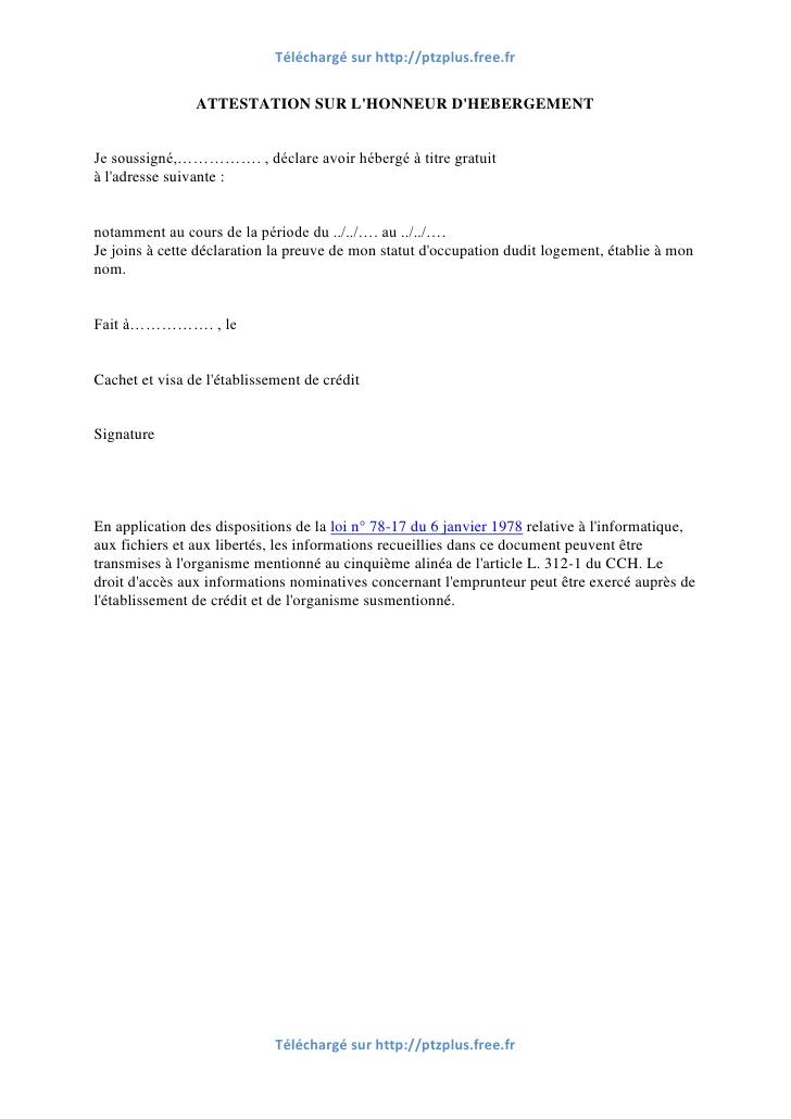 modele lettre rattachement fiscal