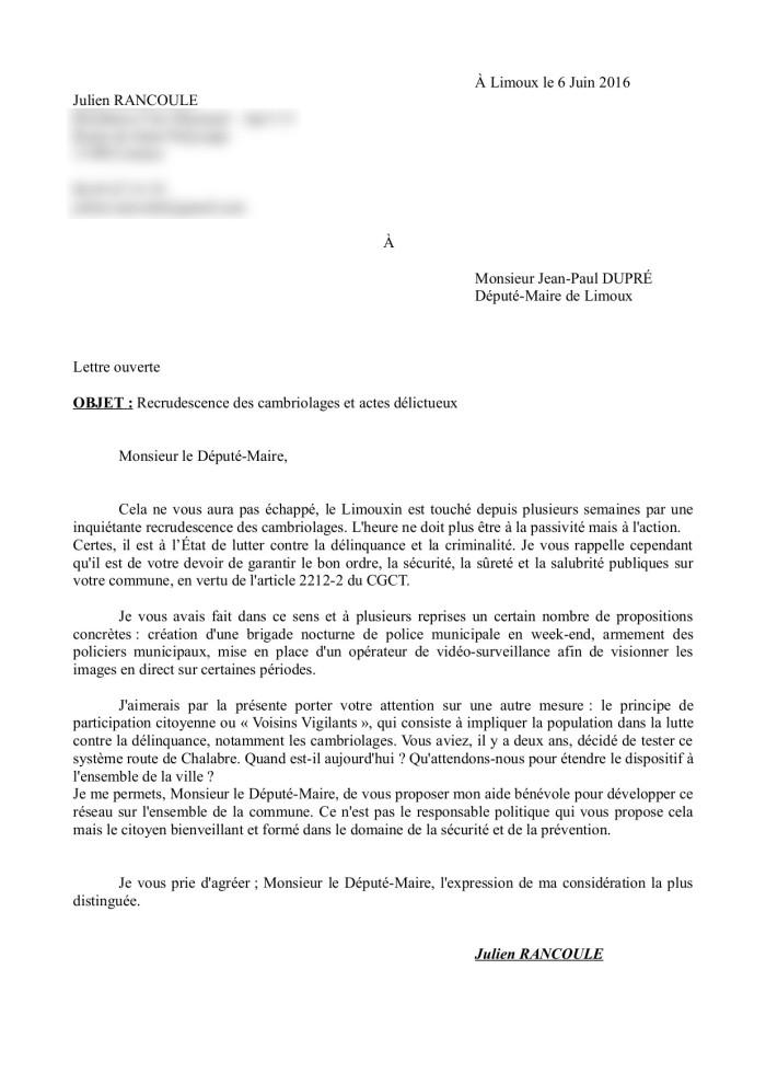 modele de lettre attestation sur l u0026 39 honneur domicile