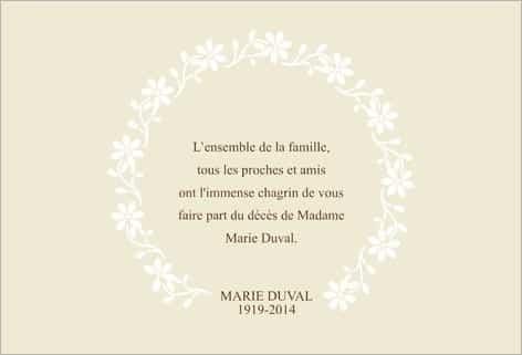 modeles de lettres de remerciements condoleances - Modele de lettre type