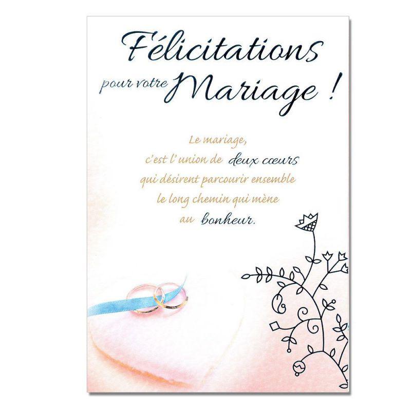 phrase de felicitation pour un mariage - Modele de lettre type