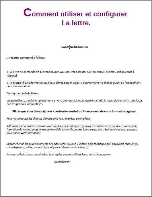 pole emploi lettre de motivation gratuite - Modele de lettre type