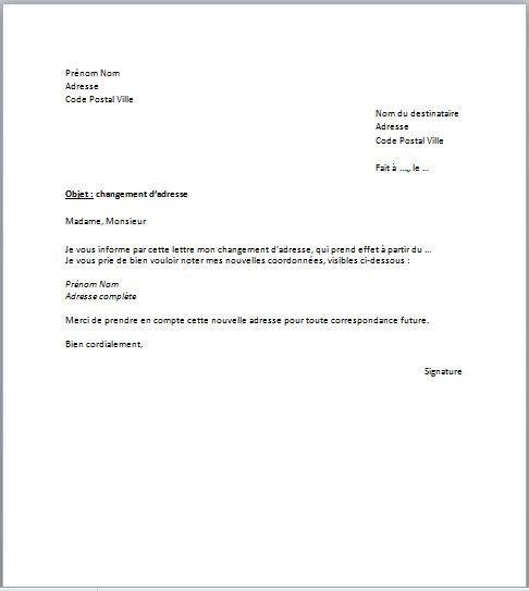 procuration pour acte de notoriete - Modele de lettre type