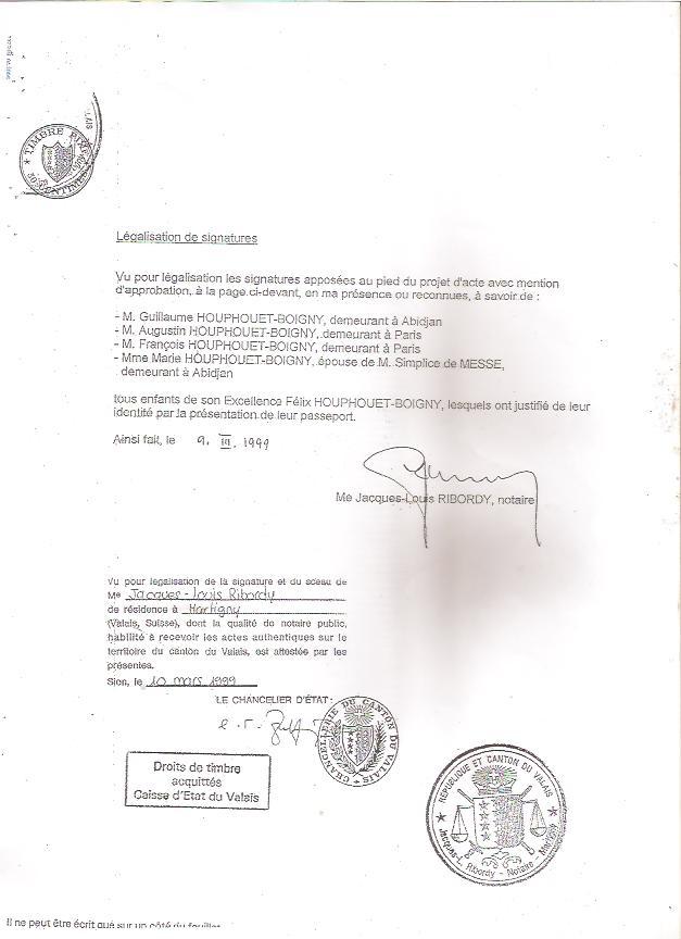 procuration pour signature notaire succession - Modele de ...
