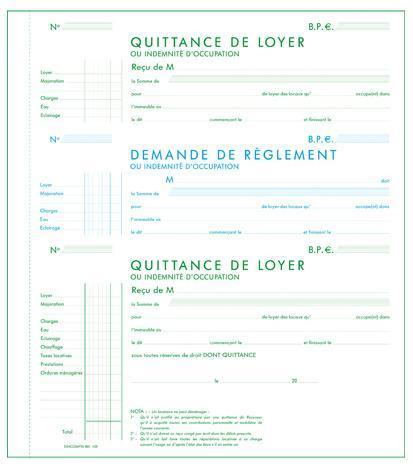 quittance de loyer pdf - Modele de lettre type
