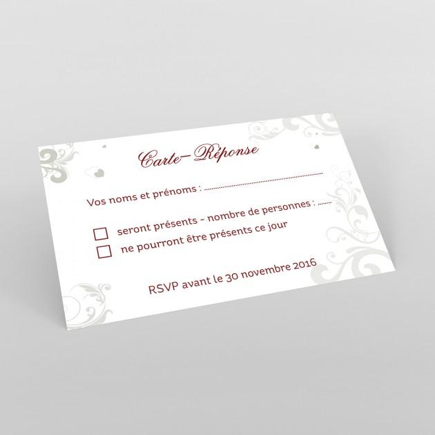 reponse a une invitation mariage