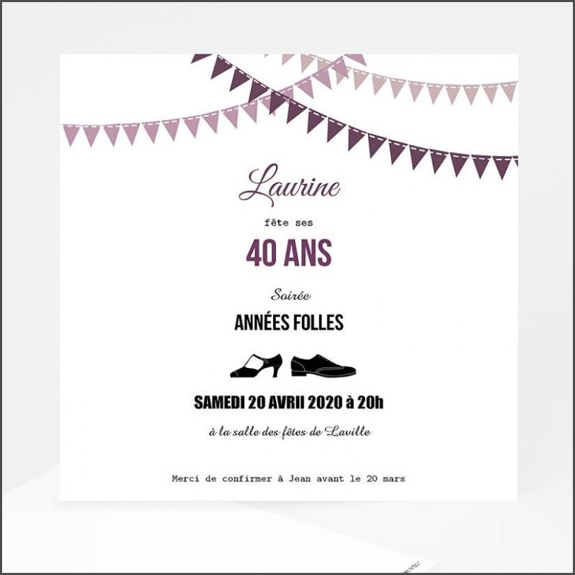 texte invitation soiree anniversaire - Modele de lettre type